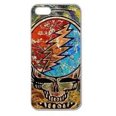 Grateful Dead Rock Band Apple Seamless Iphone 5 Case (clear)