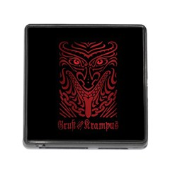 Gruss Vom Krampus Memory Card Reader (square)