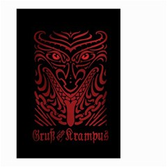 Gruss Vom Krampus Small Garden Flag (two Sides)