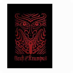 Gruss Vom Krampus Large Garden Flag (two Sides)