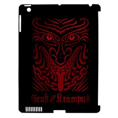 Gruss Vom Krampus Apple Ipad 3/4 Hardshell Case (compatible With Smart Cover)