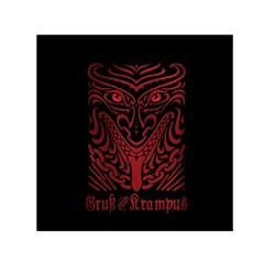 Gruss Vom Krampus Small Satin Scarf (square)
