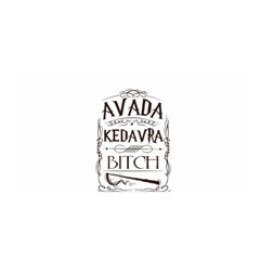 Avada Kedavra Bitch Satin Wrap