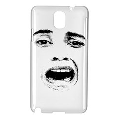 Scared Woman Expression Samsung Galaxy Note 3 N9005 Hardshell Case