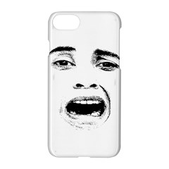 Scared Woman Expression Apple Iphone 7 Hardshell Case