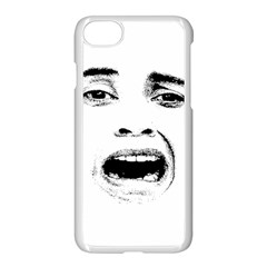 Scared Woman Expression Apple Iphone 7 Seamless Case (white)