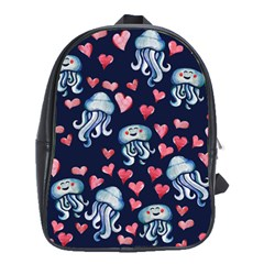 Jellyfish Love School Bags(large)