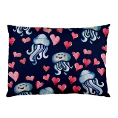 Jellyfish Love Pillow Case (Two Sides)