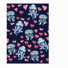 Jellyfish Love Large Garden Flag (Two Sides)