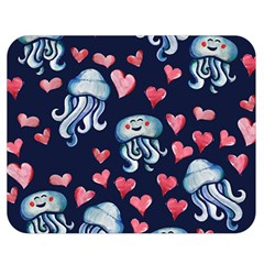 Jellyfish Love Double Sided Flano Blanket (medium)