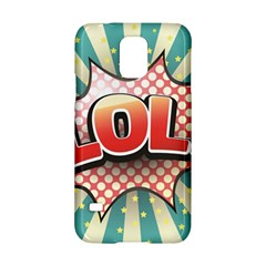 Lol Comic Speech Bubble Vector Illustration Samsung Galaxy S5 Hardshell Case