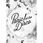 Panic At The Disco Flowers LOVE 3D Greeting Card (7x5) Inside