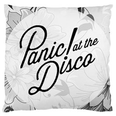 Panic At The Disco Flowers Large Cushion Case (two Sides)