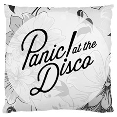 Panic At The Disco Flowers Standard Flano Cushion Case (one Side)