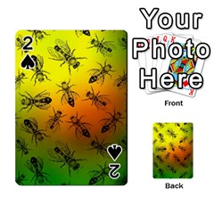 Insect Pattern Playing Cards 54 Designs