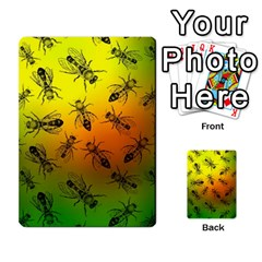 Insect Pattern Multi Purpose Cards (rectangle)