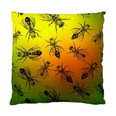 Insect Pattern Standard Cushion Case (one Side)