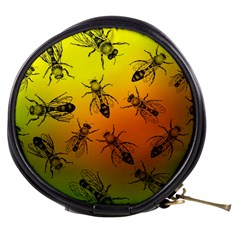 Insect Pattern Mini Makeup Bags