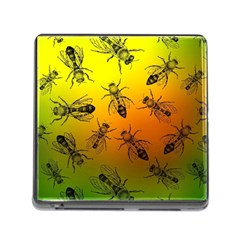 Insect Pattern Memory Card Reader (square)