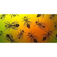 Insect Pattern You Are Invited 3d Greeting Card (8x4)