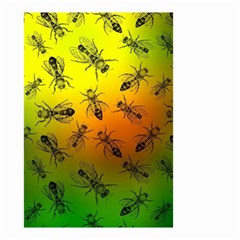 Insect Pattern Small Garden Flag (two Sides)