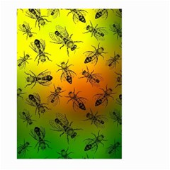 Insect Pattern Large Garden Flag (two Sides)