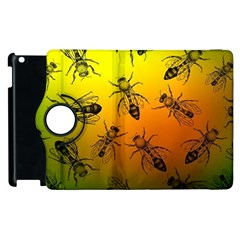 Insect Pattern Apple Ipad 3/4 Flip 360 Case