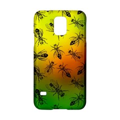 Insect Pattern Samsung Galaxy S5 Hardshell Case