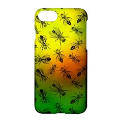 Insect Pattern Apple iPhone 7 Hardshell Case
