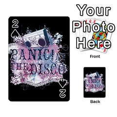 Panic At The Disco Art Playing Cards 54 Designs
