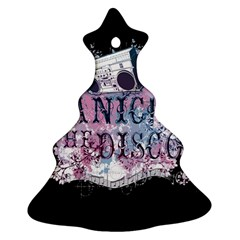 Panic At The Disco Art Ornament (christmas Tree)