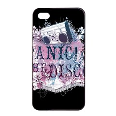 Panic At The Disco Art Apple Iphone 4/4s Seamless Case (black)