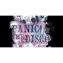 Panic At The Disco Art You Are Invited 3d Greeting Card (8x4)
