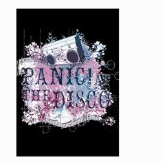 Panic At The Disco Art Small Garden Flag (two Sides)