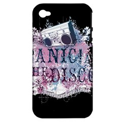 Panic At The Disco Art Apple Iphone 4/4s Hardshell Case (pc+silicone)