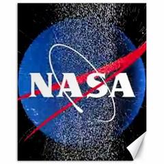 Nasa Logo Canvas 16  X 20