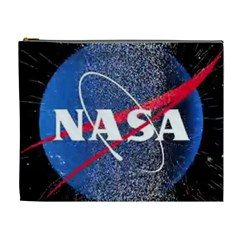 Nasa Logo Cosmetic Bag (xl)