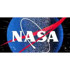 Nasa Logo YOU ARE INVITED 3D Greeting Card (8x4)
