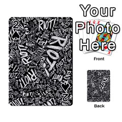 Panic At The Disco Lyric Quotes Retina Ready Playing Cards 54 Designs