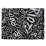 Panic At The Disco Lyric Quotes Retina Ready Cosmetic Bag (XXL)  Front