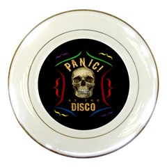 Panic At The Disco Poster Porcelain Plates