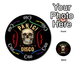 Panic At The Disco Poster Playing Cards 54 (Round)