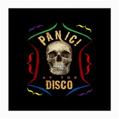 Panic At The Disco Poster Medium Glasses Cloth (2 Side)