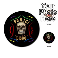 Panic At The Disco Poster Multi Purpose Cards (round)