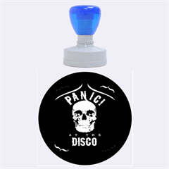 Panic At The Disco Poster Rubber Round Stamps (large)