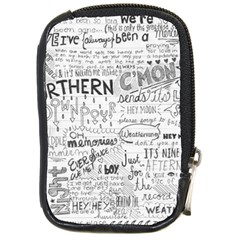 Panic At The Disco Lyrics Compact Camera Cases