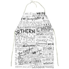 Panic At The Disco Lyrics Full Print Aprons