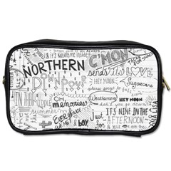 Panic At The Disco Lyrics Toiletries Bags