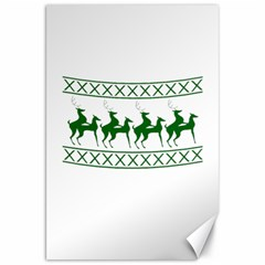 Humping Reindeer Ugly Christmas Canvas 20  X 30