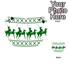 Humping Reindeer Ugly Christmas Playing Cards 54 (heart)